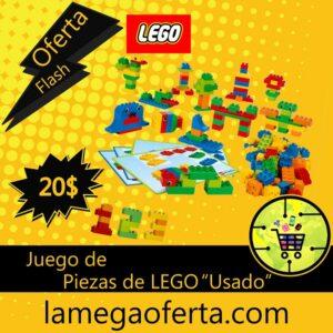 LEGO set de 100 piezas la mega oferta
